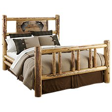 Lodgepole Bedroom Furniture Collection Bass Bed