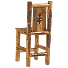 Lodgepole Furniture Collection Pub Barstool - Pine Tree