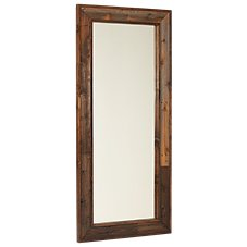 Barnwood Bedroom Furniture Collection Leaner Mirror