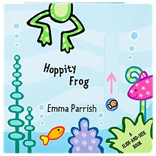 Hoppity Frog Board Book for Kids by Emma Parrish