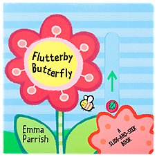 Flutterby Butterfly Board Book for Kids by Emma Parrish