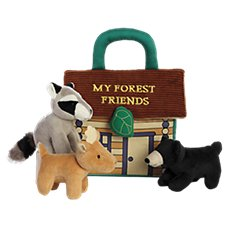 Bass Pro Shops My Forest Friends Baby Talk Interactive Plush Play Set for Babies