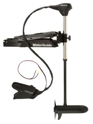 Motorguide x5 cable steer bow mount trolling motor bass for Trolling motor repair near me
