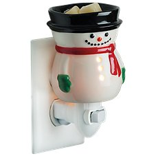 Candle Warmers, Etc. Snowman Pluggable Wax Warmer