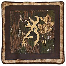 Browning Country Camo Throw Pillow