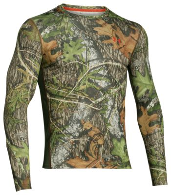 Under Armour UA NuTech Long-Sleeve Shirt for Men – Mossy Oak Obession – S