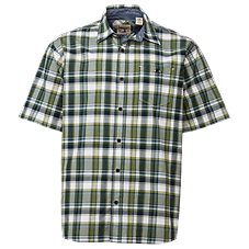 RedHead Madras Plaid Shirt for Men