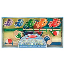 Melissa & Doug Catch and Count Fishing Game Play Set Image