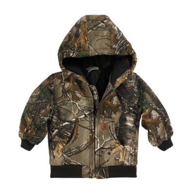 Carhartt Camo Active Jacket for Toddler Boys Realtree Xtra 3T