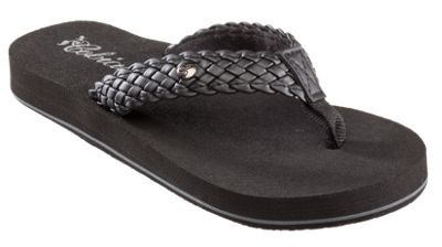d5bd1bb5f604 Cobian Braided Bounce Sandals for Ladies - Black - 10 M