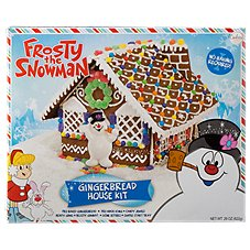 Frosty The Snowman Pre-Baked Gingerbread House Kit