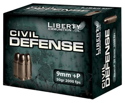 Liberty Ammunition Civil Defense Lead-Free Handgun Ammo – .45 Colt