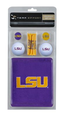 LSU NCAA Golf Gift Set - Team Effort