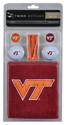 NCAA Virginia Tech Golf Gift Set- Team Effort