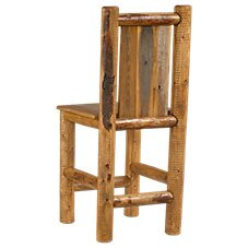 Lodgepole Furniture Collection Plain Back Barstool