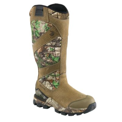 "Irish Setter Deer Tracker 17"" Waterproof Snake Boots for Men – Realtree Xtra Green/Brown – 9 M"