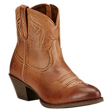 Ariat Darlin Western Ankle Boots for Ladies
