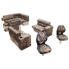 Wise Scout Pontoon Furniture Camo Series Fishing Group