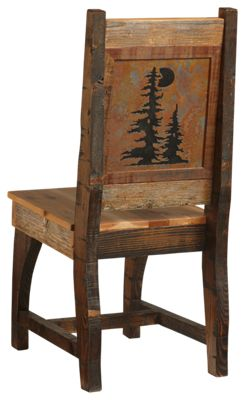 Barnwood Dining Room Collection Pine Tree Chair