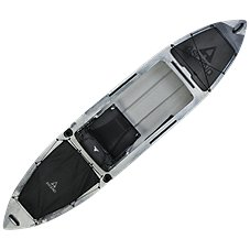 Ascend H12 Sit-In Hybrid Kayak - White/Black