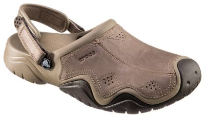 9878dc93d ... name   Crocs Swiftwater Leather Clogs for Men
