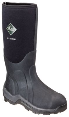 a4b6ce2f3715 The Original Muck Boot Company Arctic Sport Extreme Conditions Steel Toe  Boots for Men Black 13M