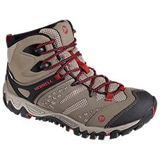 Merrell All Out Blaze Ventilator Mid Waterproof Hiking Boots for Ladies