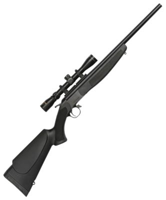 CVA Hunter Compact Single Shot Rifle with Scope thumbnail