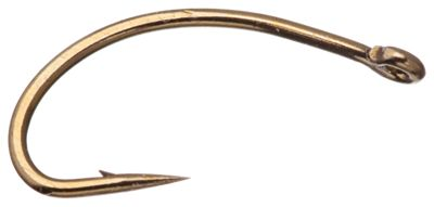 Mustad Caddis Curved C49S Fly Hooks