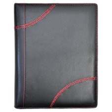Rawlings Baseball Stitch Logo Leather Padfolio and Tablet Case
