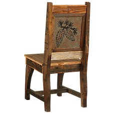 Barnwood Dining Room Furniture Collection Pinecone Chair