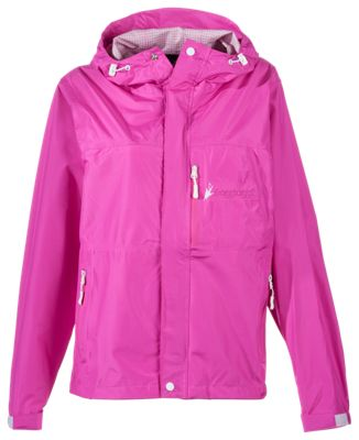 Frogg Toggs Java Toadz 2.5 Rain Jacket for Ladies - Hot Pink - XL