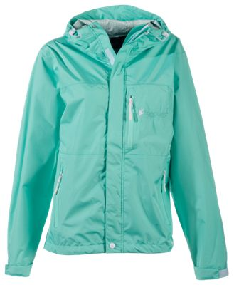 Frogg Toggs Java Toadz 2.5 Rain Jacket for Ladies - Seafoam - XL