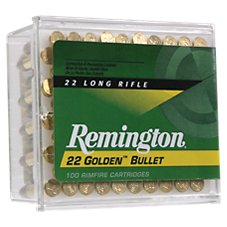 Remington Golden Bullet .22 LR Rimfire Ammo