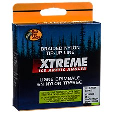 Bass Pro Shops Braided Nylon Tip-Up Ice Fishing Line