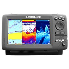 Lowrance hook 7 fishfinder chartplotter bass pro shops for Bass pro shop fish finders