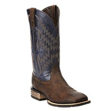 Ariat Tycoon Wide Square Toe Western Boots for Men