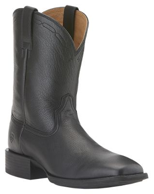 6f3ec7662 Ariat Heritage Roper Wide Square Toe Western Boots for Men | Bass Pro Shops