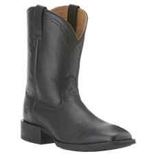 Ariat Heritage Roper Wide Square Toe Western Boots for Men