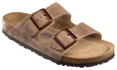 Birkenstock Arizona Soft Footbed Leather Sandals for Ladies 39 Narrow B