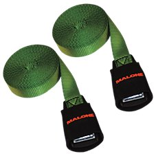 Malone Paddle Gear Cam Buckle Load Straps with Buckle Protectors