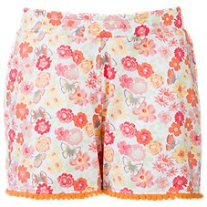 Bass Pro Shops Floral Pom Pom Shorts for Toddlers or Girls