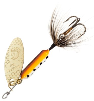 Worden's Original Rooster Tail 1/4 oz. Lure – Brown Trout