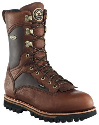 Irish Setter Elk Tracker 12'' 600 Gram Thinsulate Insulated Waterproof Hunting Boots for Men - Brown - 10 Medium D thumbnail