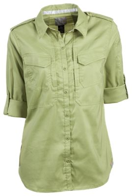 511 Tactical Spitfire Shooting Shirt for Ladies Mosstone L