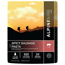 AlpineAire Foods Spicy Sausage Pasta Dehydrated Food