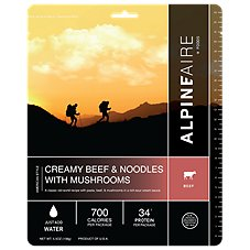 AlpineAire Foods Creamy Beef and Noodles Dehydrated Food