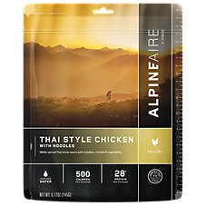 AlpineAire Foods Thai Style Chicken Dehydrated Food