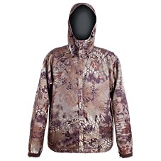 Grundens Gage Weather Watch Camo Hooded Rain Jacket for Men
