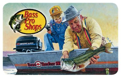 Bass Pro Shops For Dad Gift Card – $250
